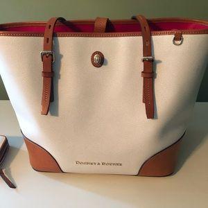 Dooney and Burke handbag and wallet